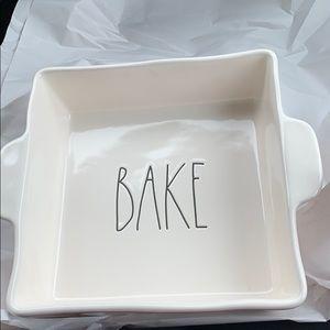 """Rae Dunn """"BAKE"""" bakeware"""